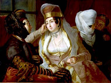 femmes maltaises - Antoine de Favray