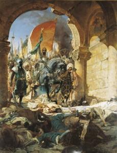 Entrée du Sultan Mehmet II dans Constantinople, le 29 mai 1443.