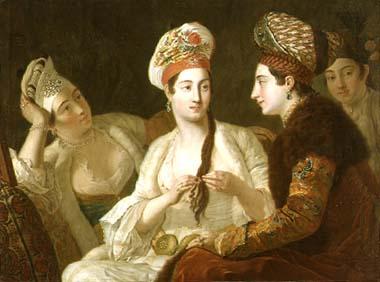 femmes turques (1764) Antoine de Favray